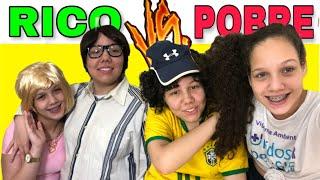 RICO VS POBRE - COMO AGRADAR O PAI - com MARCELA MUNIZ