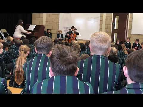 ABRSM Cello Grade 4  Exam Berceuse