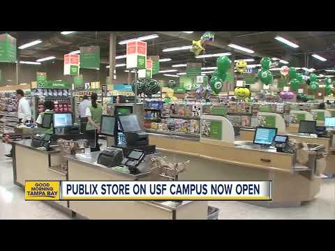 Publix Opens First Campus Store At The University Of South Florida