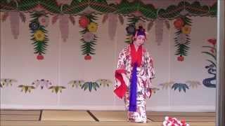 【首里城の舞】 本貫花 玉城流敏風会 2015.2.9
