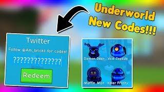 *Underworld Update Codes* New Area | New Codes | Ice Cream Simulator Roblox
