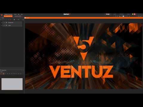 Ventuz 5 Overview Webinar 09/14/2016