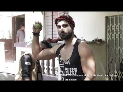 5/12 BTS : PROFASHION : Suhail Sultan As Mechanic