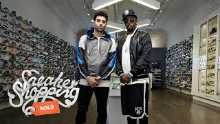 "Sean ""Diddy\"" Combs Goes Sneaker Shopping With Complex"