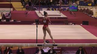 Kara Eaker - Balance Beam - 2018 World Championships - Events Finals