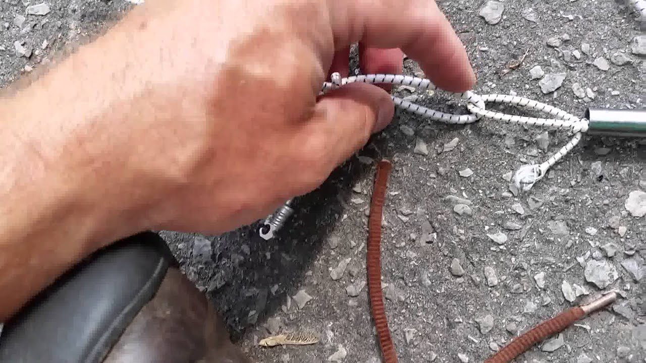 Replacing Tent Pole Shock Cord & Replacing Tent Pole Shock Cord - YouTube