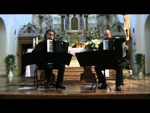 J.S. Bach: Concerto in Do maggiore BWV 1061 (1. Allegro) - Duo dissonAnce