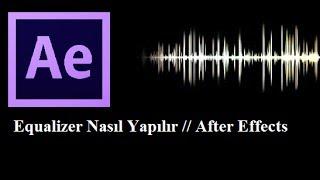 Echo Design Equalizer Efekti Nasıl Yapılır After Effects