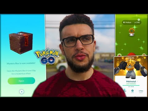 OPENING MY FIRST MYSTERY BOX! (Pokémon GO) thumbnail
