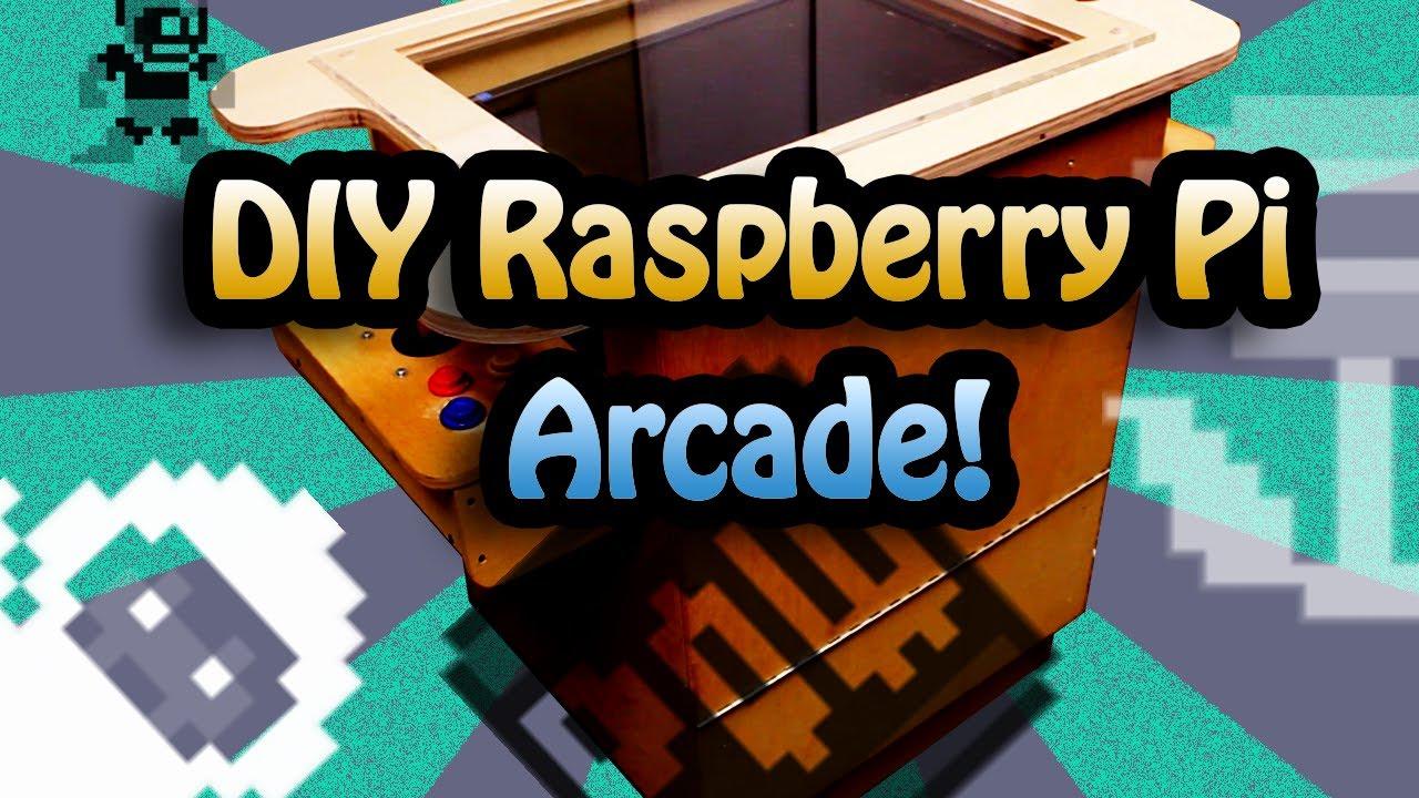 Raspberry Pi Game Cabinet Weekend Hacker Make An Arcade Cabinet Raspberry Pi Youtube