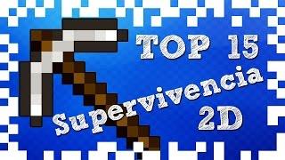 Top 15 Juegos de Supervivencia en 2D (Pocos Requisitos) │SextaGaming