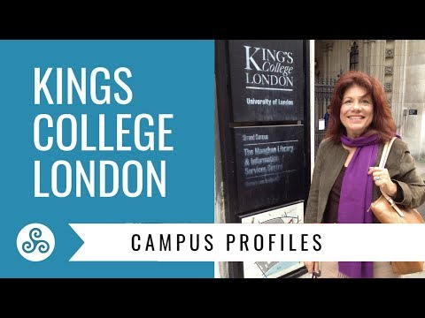 Kings College London - overview by American College Strategies after a campus tour,  London England