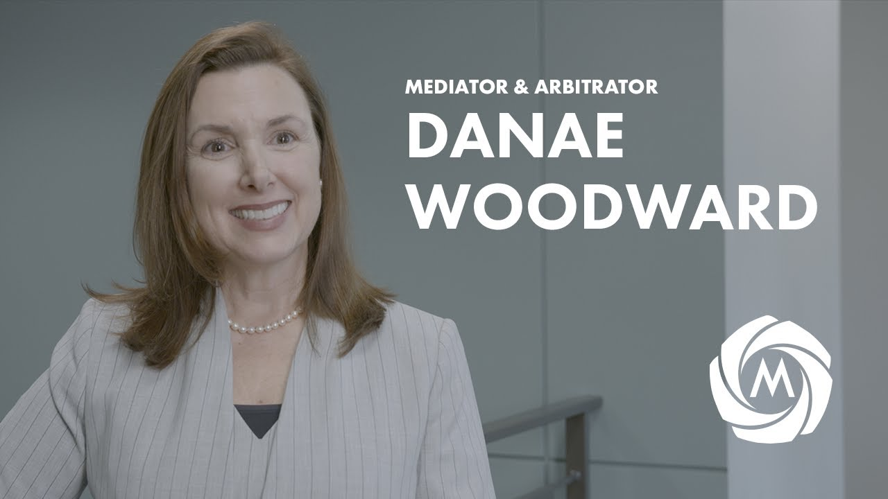 Danae Woodward, Mediator & Arbitrator video