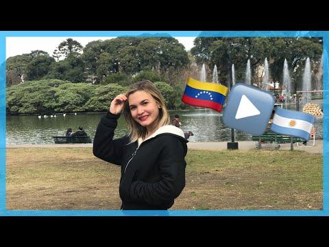 PASEANDO POR UN PARQUE DE BUENOS AIRES - VENEZOLANA EN ARGENTINA