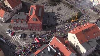11. PANAS Półmaraton Ślężański Sobótka 24.03.2018 r. film z helikoptera