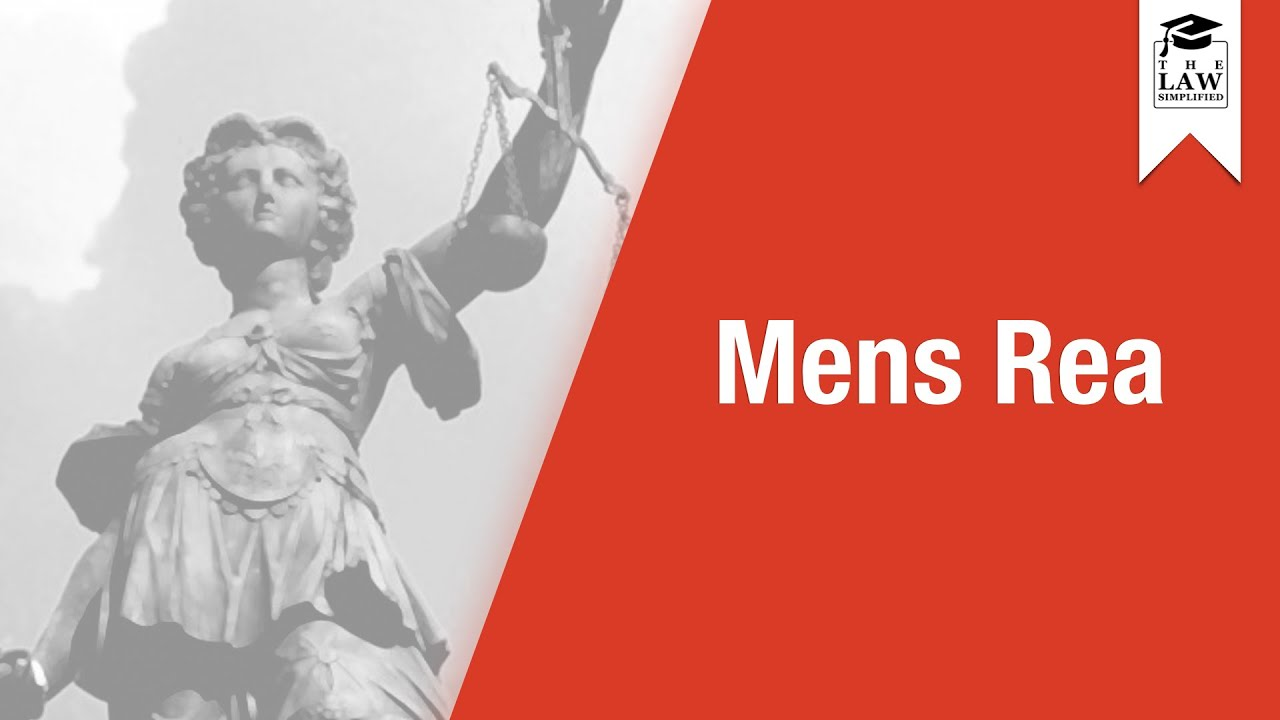 mens rea Mens rea: mens rea is a legal concept denoting criminal intent or evil mind.