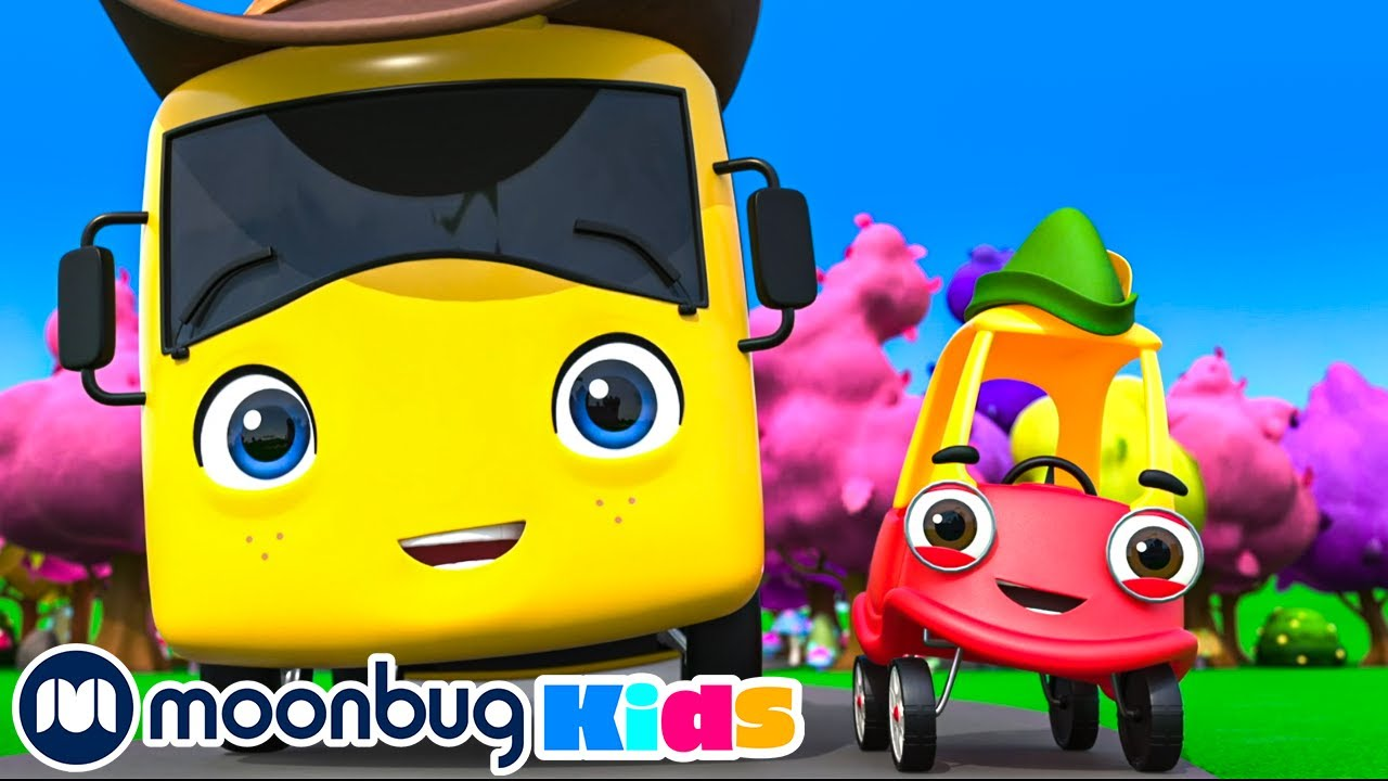 Rescuing King Terry the Tractor - Buster's Story Time | NEW BRAND | Kids Videos | Cozy Coupe