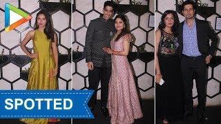 Celebs SPOTTED at Masaan actress Shweta Tripathi's WEDDING party