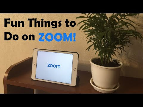 8 Things To Do On Zoom! How To Have Fun With Friends During Quarantine!