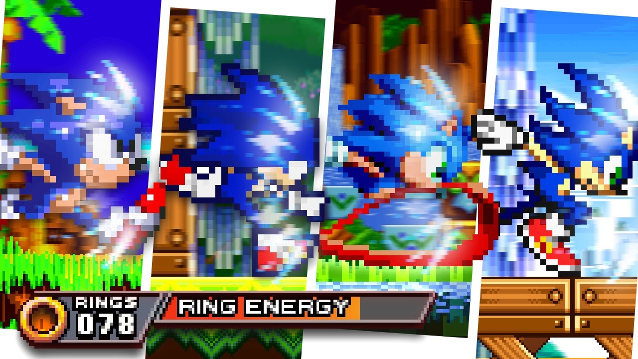 Boosting Sonic in 2D Games