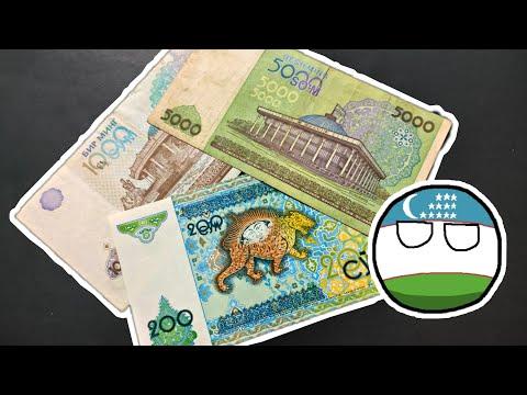 Beautiful Banknotes Of Uzbekistan 🇺🇿
