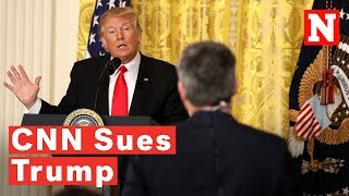 CNN Sues Trump To Restore Jim Acosta's Press Pass