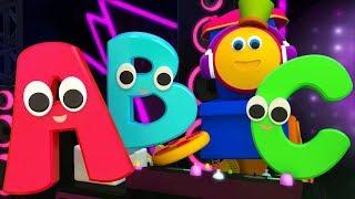 Alphabet Rhyme ABC Song Learn ABC Song Learning Street With Bob The Train  Bob the train