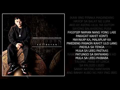 Pasipsip Naman - Abaddon Ft  Eman & Third Flo' (With Lyrics)