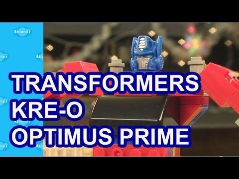 Transformers KRE-O Optimus Prime Toy Review Unboxing