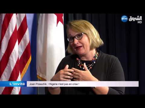 Joan Polaschik: l'Algérie n'est pas en crise !