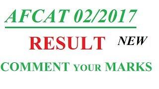 CHECK RESULT PDF FOR AFCAT 02/2017