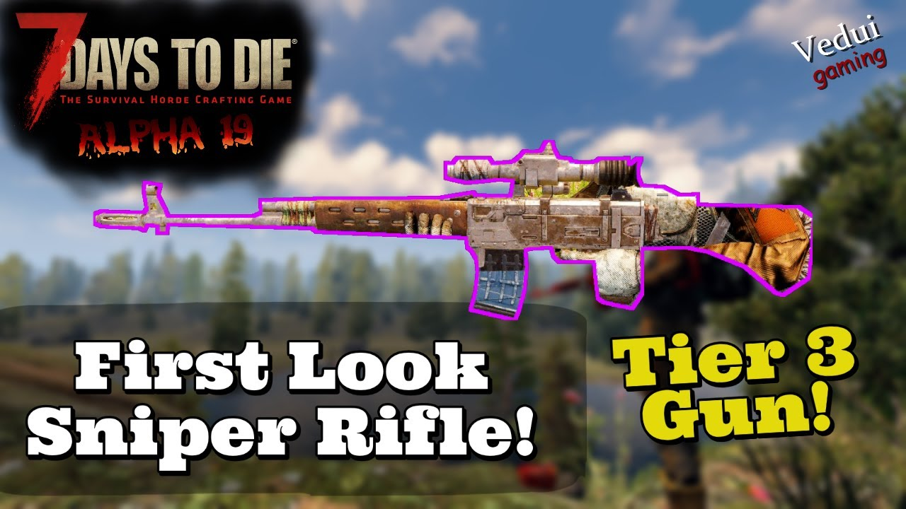 Marksman Rifle Official 7 Days To Die Wiki
