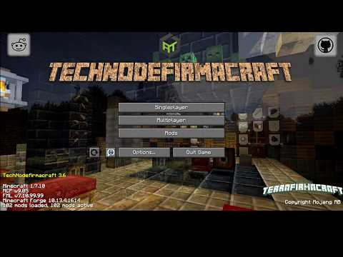 A Geologists Journey Trough TechNodeFirmaCraft Ep:1 Go east!!!