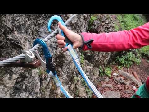 Klettersteigset Camp Vortex : Test camp kinetic gyro rewind pro youtube