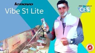 CES 2016. Обзор смартфона Lenovo Vibe S1 Lite