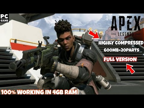 Download Apex Legends Highly Compressed For PC In Just 600MB With Setup Install Proof