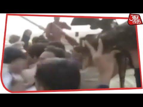 Signature Bridge के उद्घाटन से पहले हंगामा, पुलिस से भिड़े Manoj Tiwari