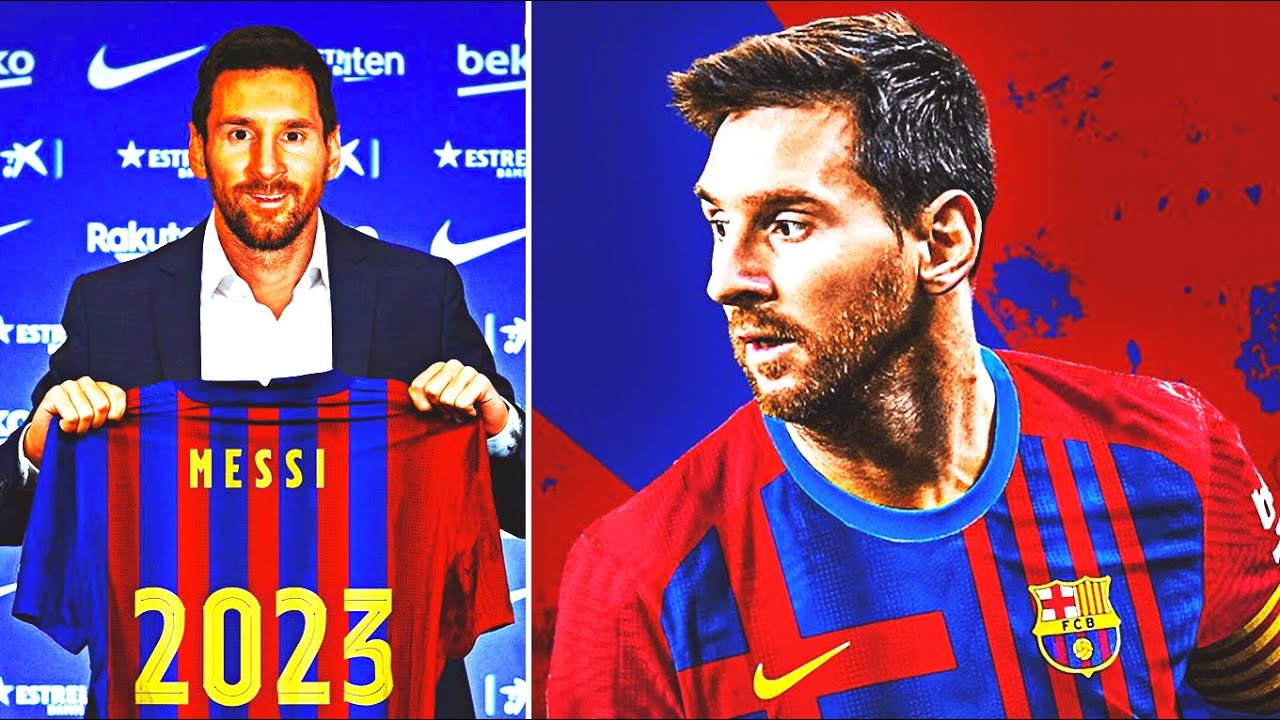 BOOM! MESSI SIGNED A NEW CONTRACT WITH BARCELONA! THE FINAL DECISION OF MESSI! HE STAYS IN THE BARCA