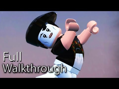 "VILLAIN ""BOMB VOYAGE"" Walkthrough (Lego The Incredibles) Post Game Boss Mission 60FPS"