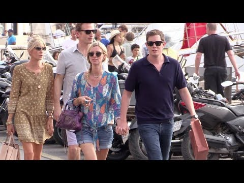 EXCLUSIVE - Nicky Hilton and her husband James Rothschild in Saint Tropez