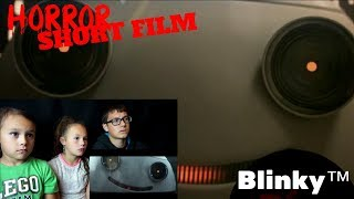 [FNSHF-27] Blinky™ Short Horror Film Reaction!!! | #dthreeHorrorGiveaway