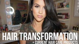 Hair Transformation: Hair Color + Current Hair Care Products