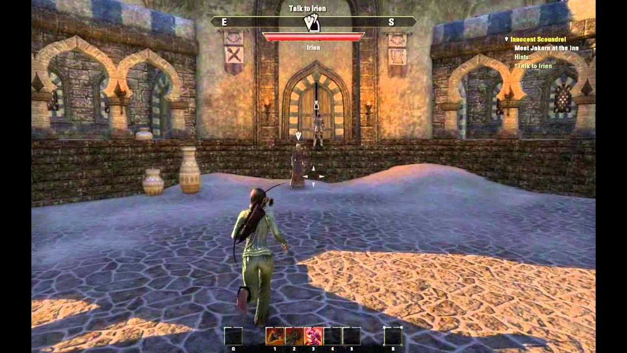 Elder Scrolls Online Beta! 1 hour PlayThrough - RedGuard ... Play Elder Scrolls Redguard Online