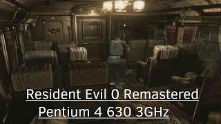 Resident Evil 0 HD Remaster - Gameplay on Pentium 4 630 3GHz - NVidia GeForce GT 610 - 2GB RAM