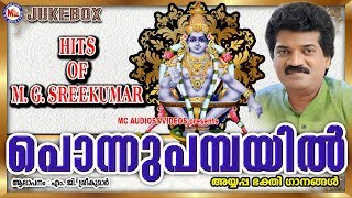 പൊന്നുപമ്പയിൽ | Ponnu Pambayil | Hindu Devotional Songs Malayalam | Ayyappa Songs Mg Sreekumar