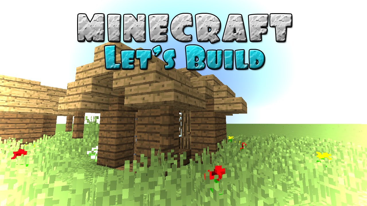 Minecraft Let's Build : Garden Shed - YouTube
