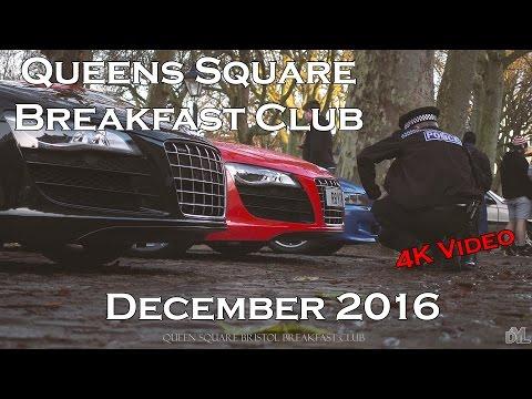 4k Video - Queens Square Breakfast Club December 2016
