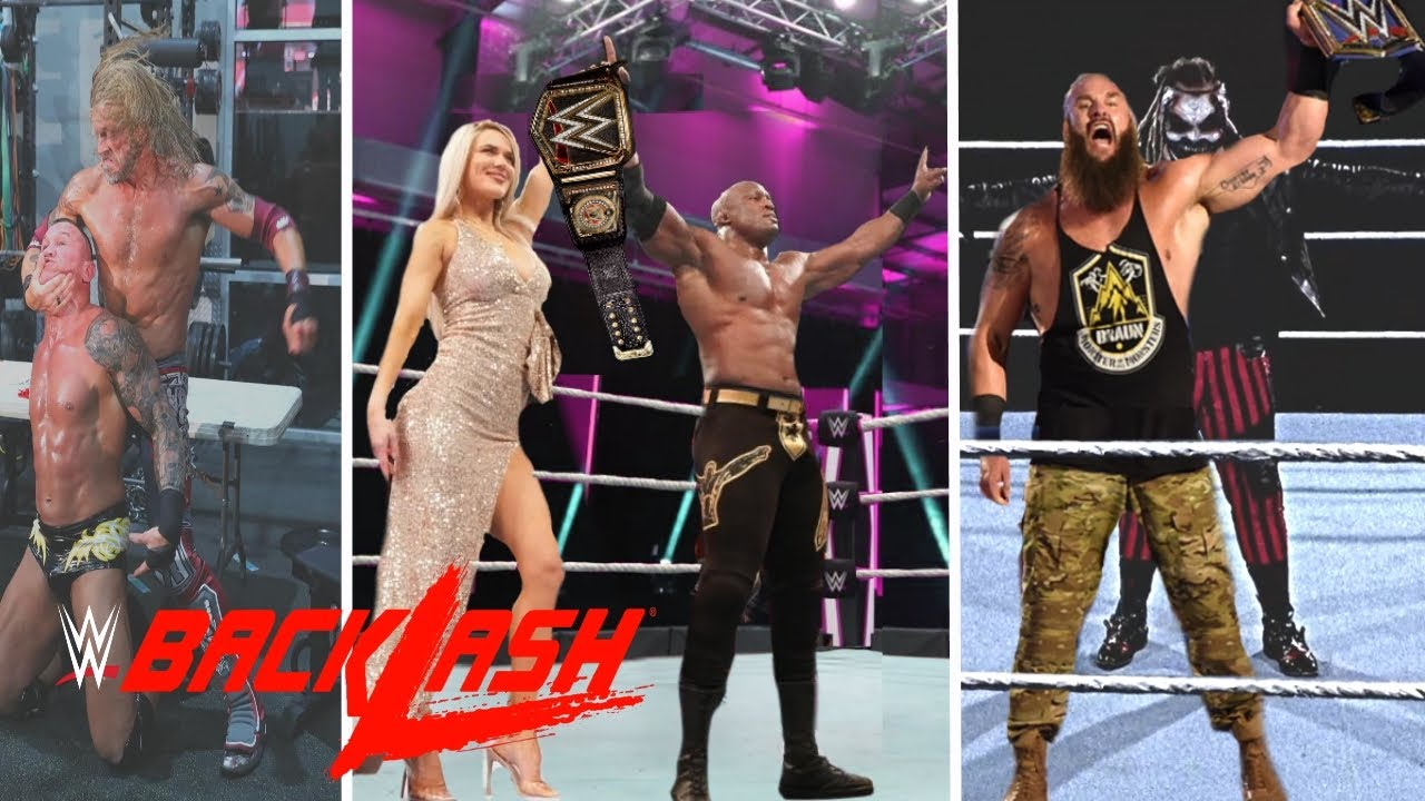 WWE Backlash 2020 Results: Winners, News And Notes