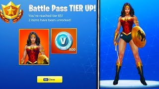 LA NOUVELLE SAISON 4 WONDER WOMAN SKIN LEAKED! - Fortnite Battle Royale Saison 4 Superhero SKINS CONFIRMED
