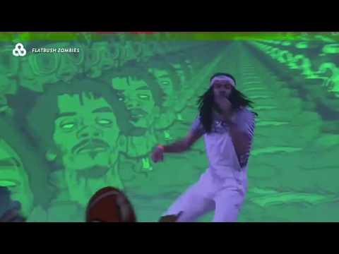 Flatbush Zombies UNRELEASED SONGS Live @ Bonnaroo Music & Arts Festival 2017